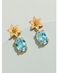 Chantelle Prong Earrings Embellished With Swarovski Crystals