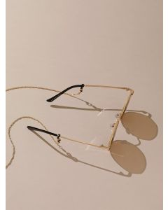 Gold Plated Sleek Link Multiuse Chain